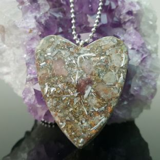 Heart Orgone 5G/EMF &  Ascension Pendant